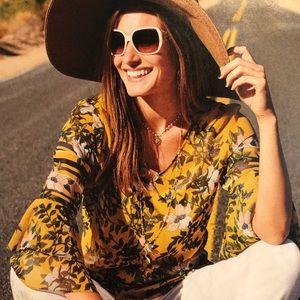 Cabi scene blouse